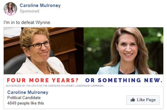 Caroline Mulroney Ad